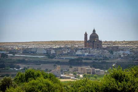 Church of Xewkija also known as Rotunda - Gozo, Malta Stock Photo