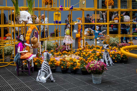 Day of the Dead Decoration - Mexico City, Mexico