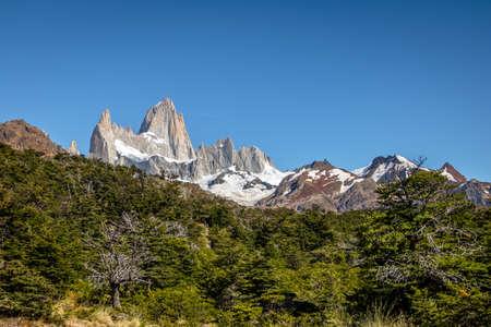 roy: Mount Fitz Roy in Patagonia - El Chalten, Argentina