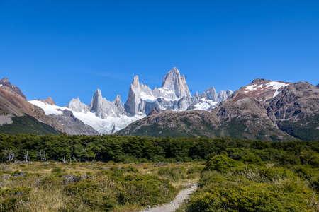 Mount Fitz Roy in Patagonia - El Chalten, Argentina