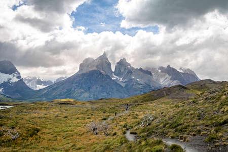 Torres del Paine National Park near Salto Grande - Patagonia, Chile
