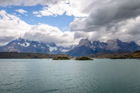 Torres del Paine National Park - Patagonia, Chile Stock Photo