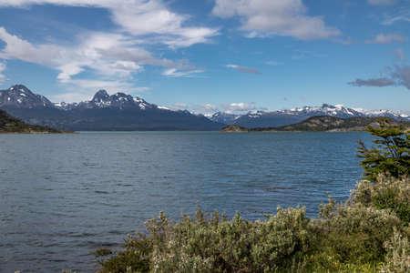 tierra: Lapataia Bay at Tierra del Fuego National Park in Patagonia - Ushuaia, Tierra del Fuego, Argentina