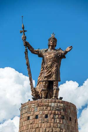 Inca Pachacutec Monument - Cusco, Peru