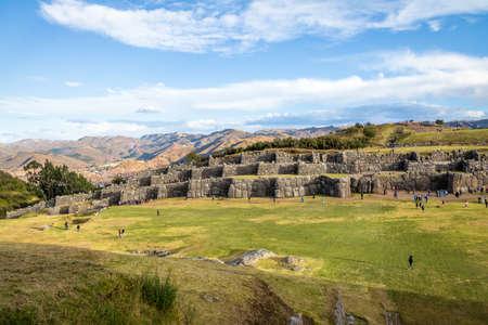 Saqsaywaman or Sacsayhuaman Inca Ruins - Cusco, Peru