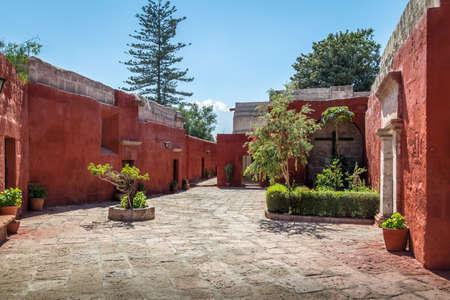 cloister: Santa Catalina Monastery - Arequipa, Peru