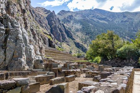Ollantaytambo Inca ruins and Terraces - Ollantaytambo, Sacred Valley, Peru
