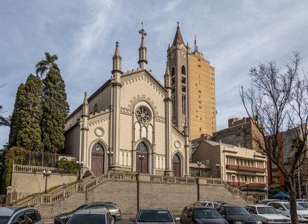 dante alighieri: Santa Teresa DAvila Cathedral - Caxias do Sul, Rio Grande do Sul, Brazil Editorial