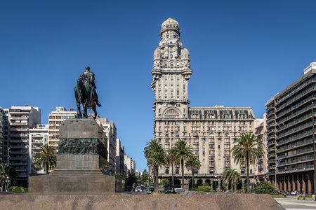 Plaza Independencia and Palacio Salvo -  Montevideo, Uruguay Editorial