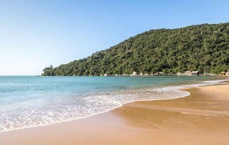 Praia de Laranjeiras Beach - Balneario Camboriu, Santa Catarina, Brazil Standard-Bild