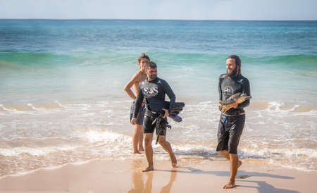 Scientific Capture of Sea Turtles, measurement and data collection by Tamar Project (Tamar Project) at Boldro Beach Beach - Fernando de Noronha, Pernambuco, Brazil Editorial
