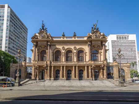 Municipal Theater of Sao Paulo - Sao Paulo, Brazil