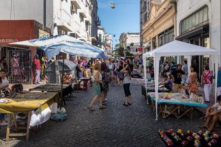 San Telmo Market (San Telmo Market) - Buenos Aires, Argentina Editoriali