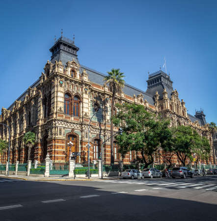 Palace of the Corrientes Waters, Water Company Palace - Buenos Aires, Argentina