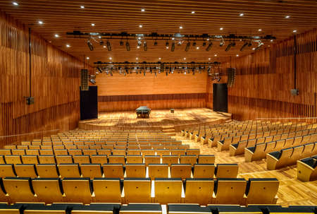 Argentina Concert Hall of Kirchner Cultural Center (Kirchner Cultural Center) CCK - Buenos Aires, Argentina Editorial