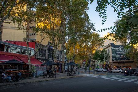 Bar and restaurants at Palermo Soho bohemian neighborhood - Buenos Aires, Argentina