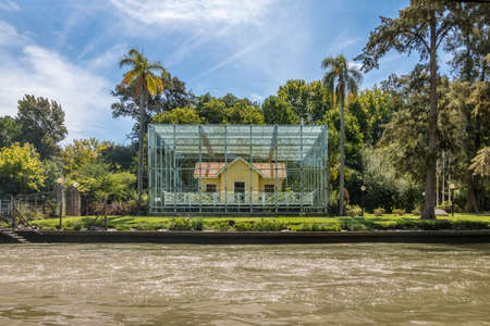 Sarmiento House Museum - Tigre, Buenos Aires Province, Argentina Editorial