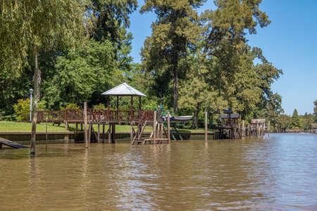 Tigre Delta - Tigre, Provinz Buenos Aires, Argentinien Standard-Bild