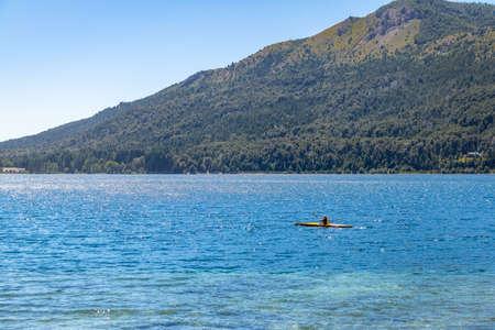 Kayaking at Lake Gutierrez - Bariloche, Patagonia, Argentina