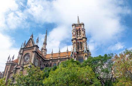 Capuchins Church or Sacred Heart Church (Iglesia del Sagrado Corazon) - Cordoba, Argentina Foto de archivo - 105386139