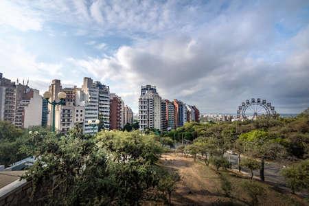 Sarmiento Park Stairs viewpoint (Escaleras) - Cordoba, Argentina Stock Photo