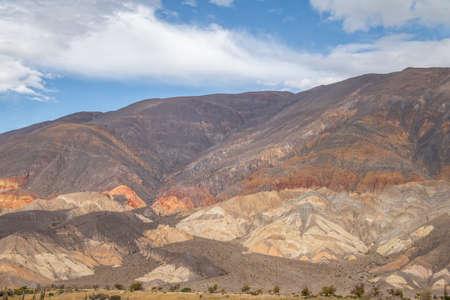 Quebrada del Toro Mountains - Quebrada del Toro, Salta, Argentina Stock Photo
