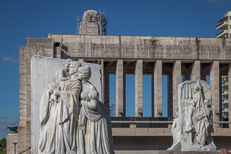 Lola Mora Sculptures at National Flag Memorial - Rosario, Santa Fe, Argentina