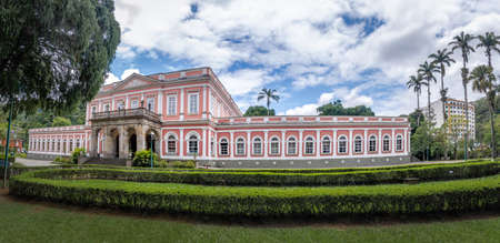 Imperial Palace former Summer Palace of brazilian Monarchy - Petropolis, Rio de Janeiro, Brazil 報道画像