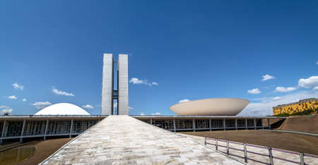 Brazilian National Congress - Brasilia, Distrito Federal, Brazil Editoriali