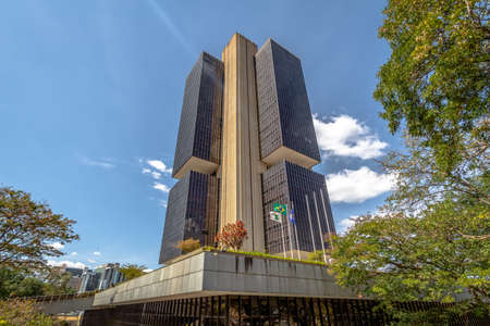 Central Bank of Brazil headquarters building - Brasilia, Distrito Federal, Brazil