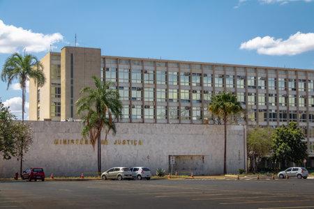 Ministry of Justice Building - Brasilia, Distrito Federal, Brazil Editorial