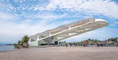 Museum of Tomorrow (Museum of Tomorrow) - Rio de Janeiro, Brazil Editoriali