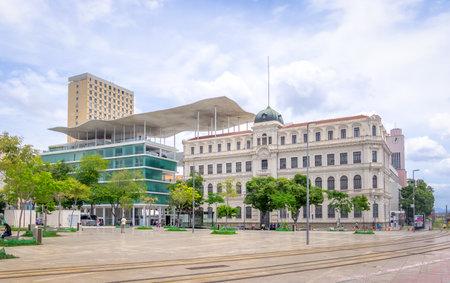 Rio de Janeiro, Brazil - Oct 31, 2017: Rio Museum of Art - Museu de Arte do Rio (MAR) at Maua Square -  Rio de Janeiro, Brazil