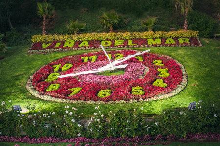 Vina del Mar Clock Flower (Flower Clock) - Vina del Mar, Chile