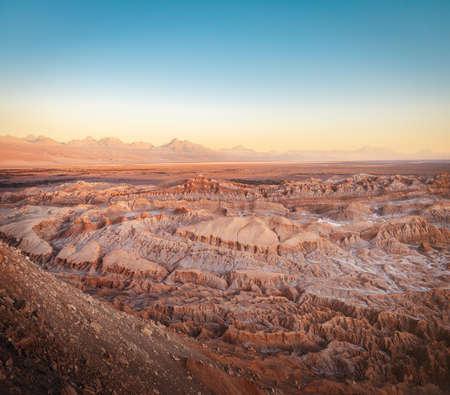 Death Valley at Sunset - Atacama Desert, Chile 写真素材