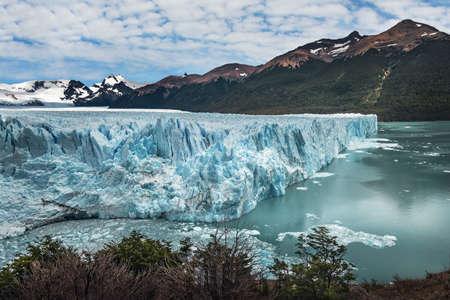 Perito Moreno Glacier at Los Glaciares National Park in Patagonia - El Calafate, Santa Cruz, Argentina 写真素材