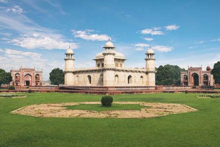 Itmad-Ud-Daulahs Tomb (Little Taj) - Agra, India 写真素材