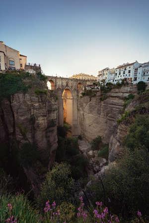 Ronda Puente Nuevo Bridge - Ronda, Malaga Province, Andalusia, Spain