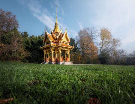 Thai Pavilion - Lausanne, Switzerland Banque d'images