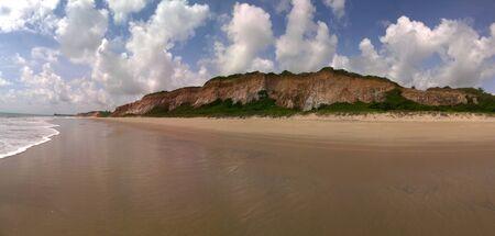 seashores: Panoramic cliff on the beach