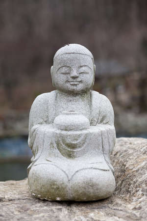 Korea Buddha statue photo