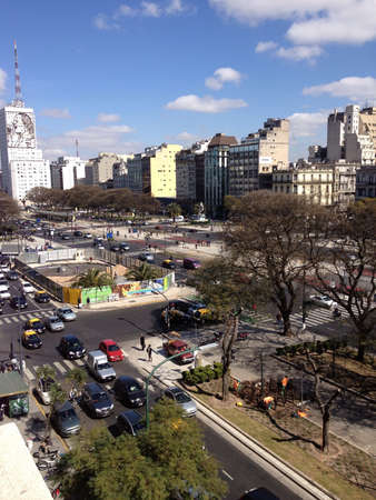 peron: A common day in Buenos Aires