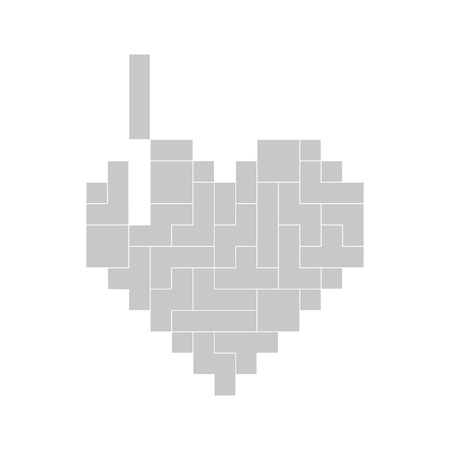 tetris: tetris heart