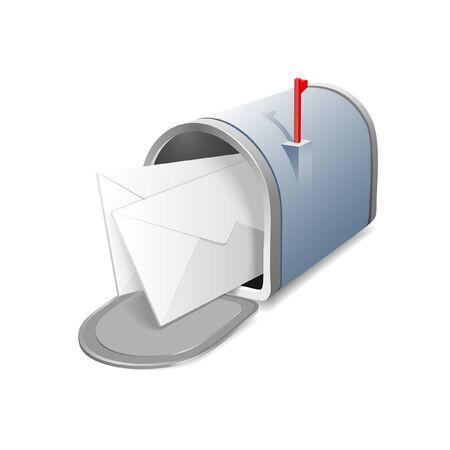 standard steel: mailbox