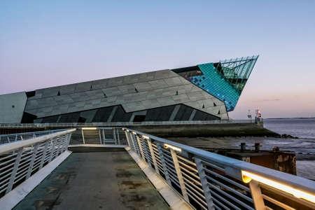 キングストン ハルイングランド - 2011 年 1 月 9 日: イギリスのハルの深い水族館