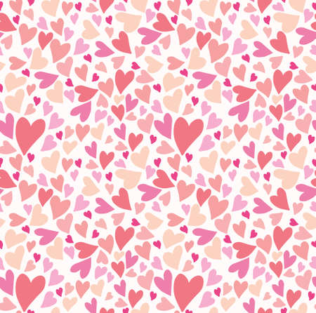 Seamless pattern lot hearts. Seamless pattern lot hearts for Valentines Day.