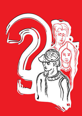 jealousy: The guy, the girl, the guy. Questions on mutual relations between young men.
