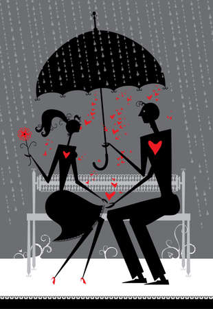 umbel: Evening rendezvous in the rain.