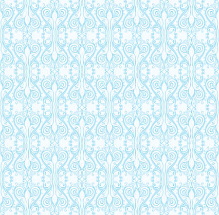 Beautiful lace winter seamless pattern. Stok Fotoğraf - 90668748