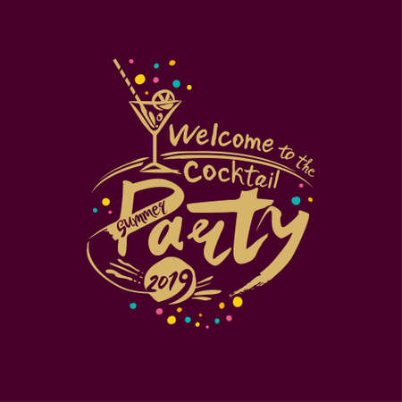 Welcome to the Cocktail Party. Summer 2019. Imagens - 124956674